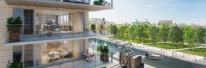 270 appartements en bordure du canal