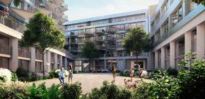 142 nieuwbouwappartementen in Brussel