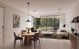 appartement met diensten en voorzieningen