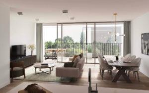 appartement avec terrasse en résidence services