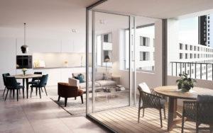 appartement avec services et commodités à Louvain