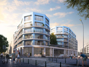 142 appartements neufs sur 3 îlots
