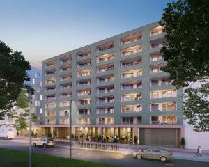 270 appartements répartis sur 4 immeubles