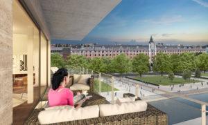 appartement avec terrasse à Bruxelles