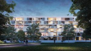 résidence senior intégrée au projet immobilier