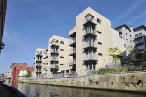 55 appartements neufs à Gand